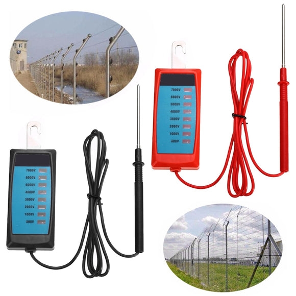 Mayitr Electric Fence Voltage Tester Detector Farm Garden Fence Fault Fenceline Voltage Analyzer 400*45mm
