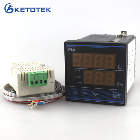 Egg incubator farming humidity & temperature Controller  220V 50-60HZ with High reliable computer chip and sensor TDK0302LA