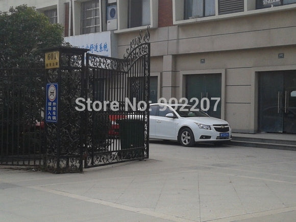 gates iron fences pre made iron gates 6 ft metal garden gate