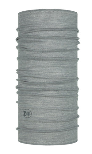 LIGTHWEIGHT MERINO WOOL SOLID LIGHT GREY