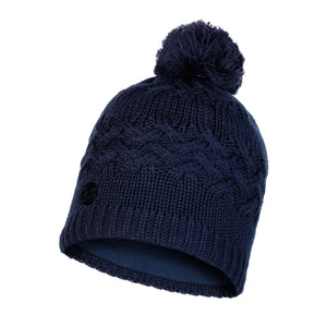 KNITTED & POLAR HAT SAVVA NIGHT BLUE