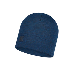 HEAVYWEIGHT MERINO WOOL HAT SOLID DENIM