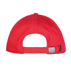 BASEBALL CAP SOLID RED