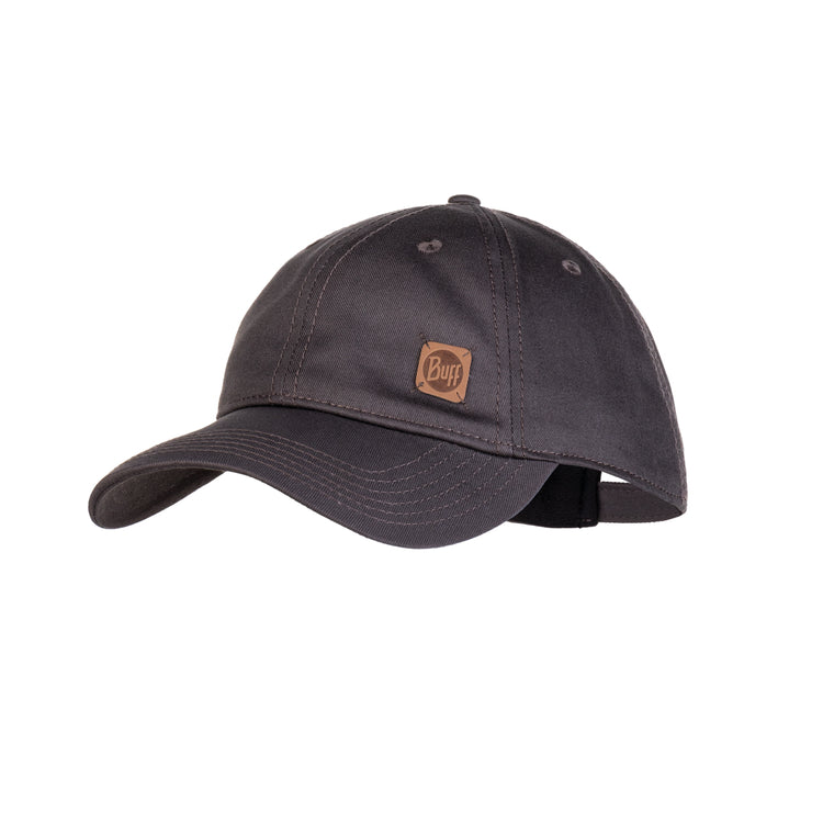 BASEBALL CAP SOLID PEWTER GREY
