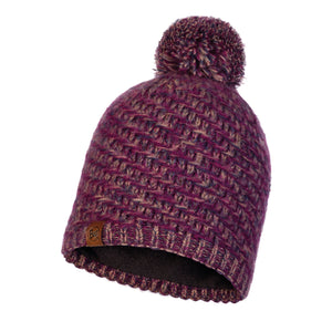 KNITTED & POLAR HAT AGNA VIOLET
