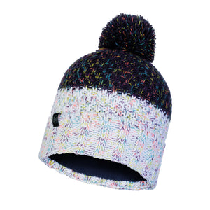 KNITTED & POLAR HAT JANNA NIGHT BLUE