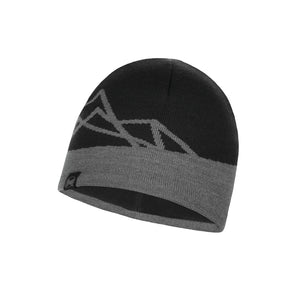 KNITTED & POLAR HAT YOST BLACK