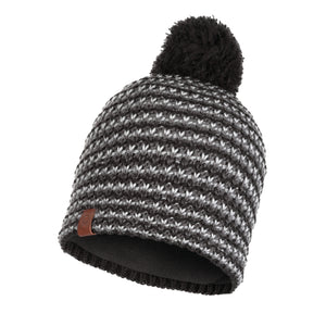 KNITTED & POLAR HAT DANA GRAPHITE
