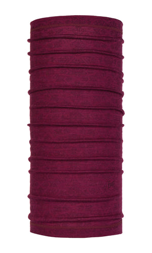 LIGHTWEIGHT MERINO WOOL SIGGY PURPLE RASPBERRY