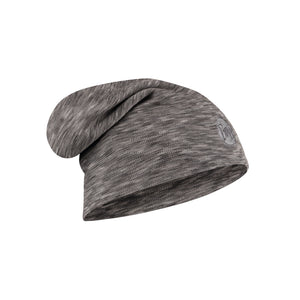HEAVYWEIGHT MERINO WOOL HAT FOG GREY MULTI STRIPES