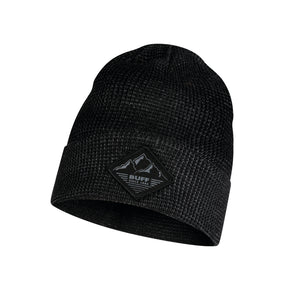 KNITTED HAT MAKS BLACK