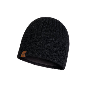 KNITTED & POLAR HAT NEW HELLE GRAPHITE
