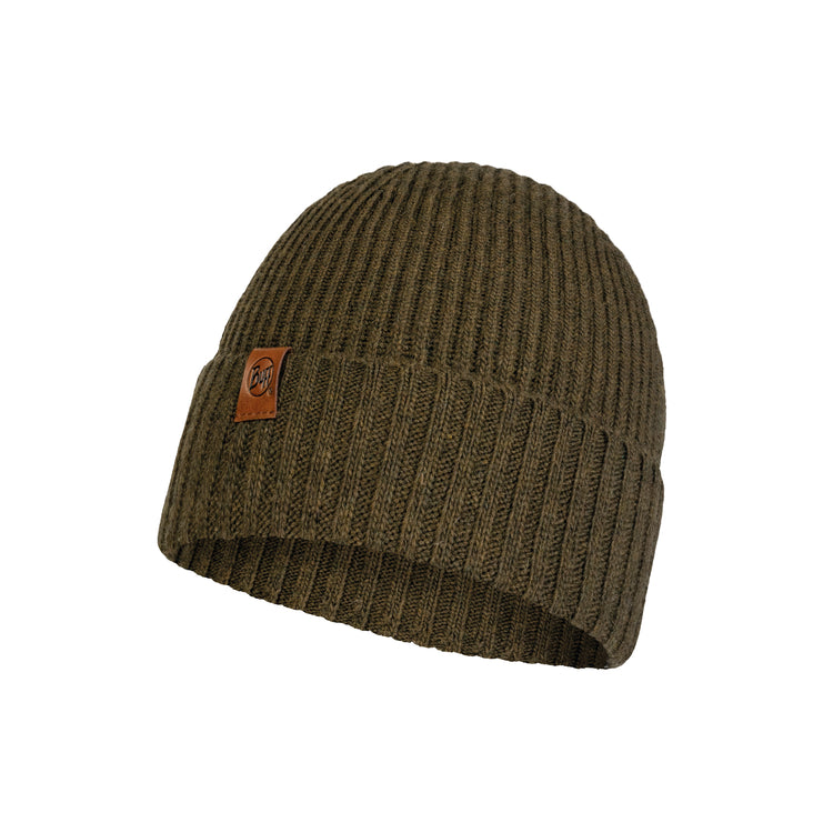 KNITTED HAT NEW BIORN TUINDRA KHAKI