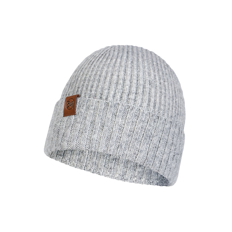 KNITTED HAT NEW BIORN LIGHT GREY