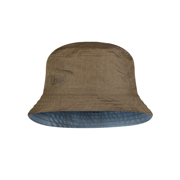 TRAVEL BUCKET HAT ZADOK BLUE-OLIVE TALLA M/L