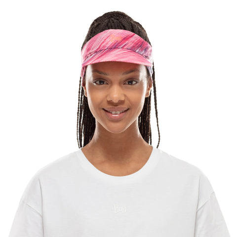 PACK RUN VISOR PIXEL PINK