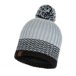 KNITTED & POLAR HAT BORAE GREY