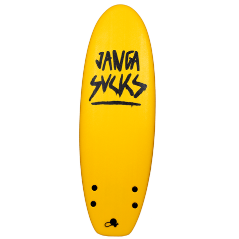 JANGA SUCKS FOAMIE 4.10 * YELLOW