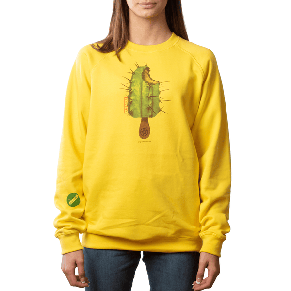 FRESH AND TRUE NECK SWEATSHIRT