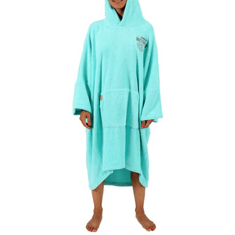 PONCHO WOMAN TURQUOISE