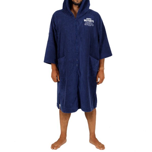 PONCHO ZIP MAN BLUE