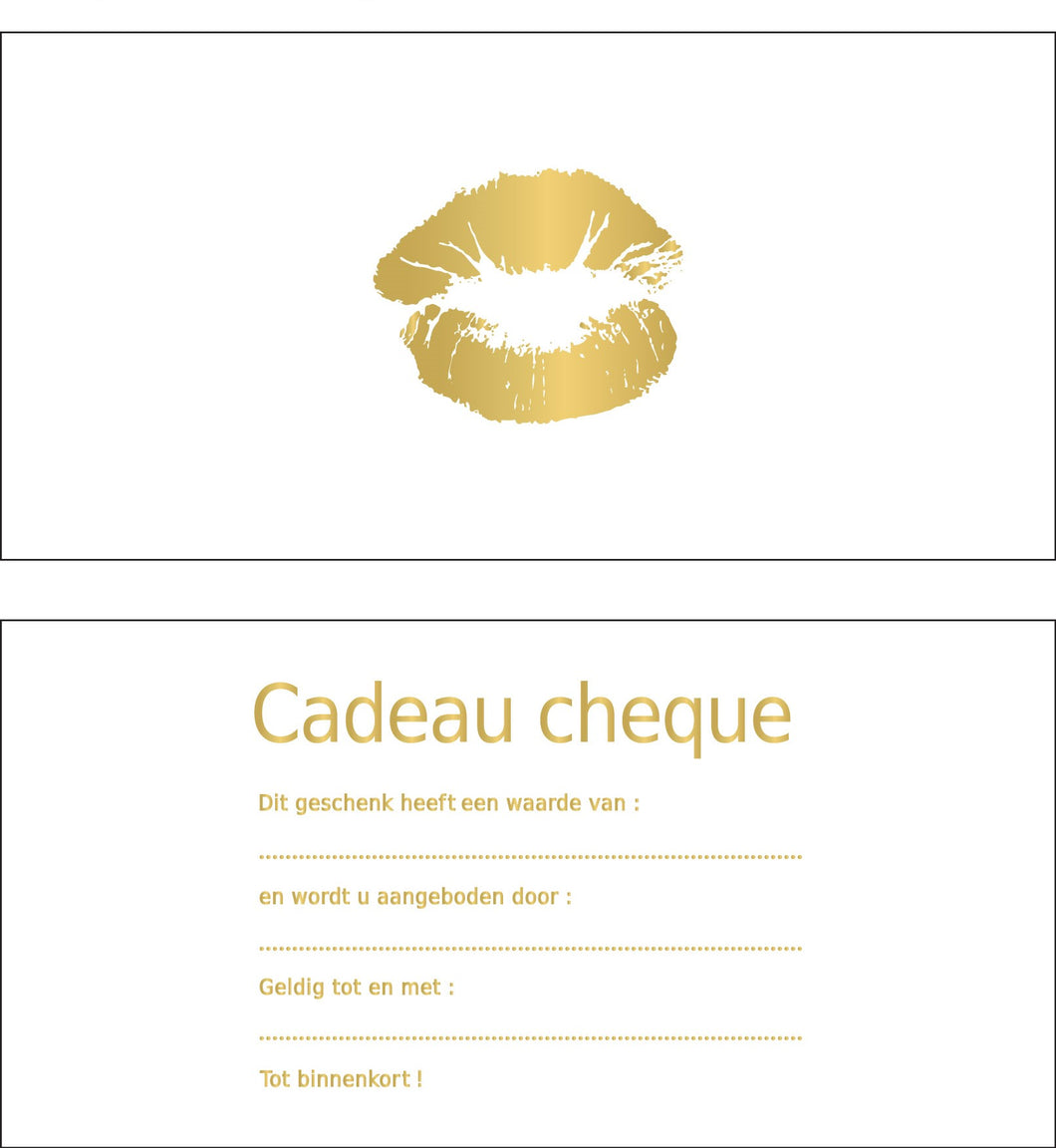 Gift Card - Lips Gold