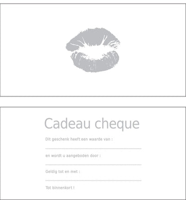 Gift Card - Lips Silver