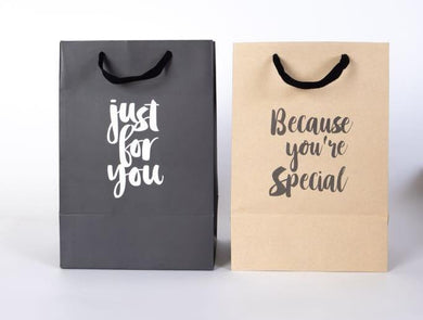Giftbag - Just for you - Because you're special