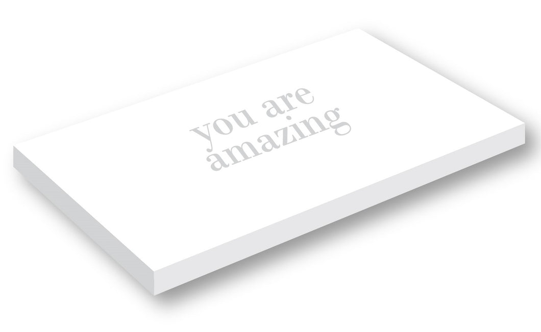 Giftbox - You are amazing - Art Shiny White