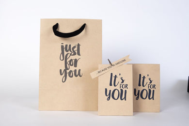 Giftbag - Just for you - It's for you