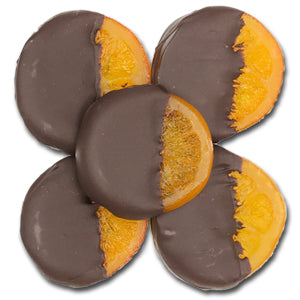 Chocolate Dipped Orange Slices 1/4 lb.