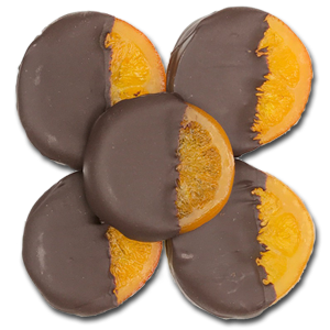 Belgian Chocolate Orange Slices 1/4 lb.