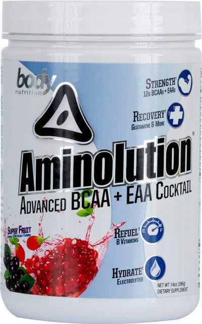 Aminolution: Advanced BCAA + EAA Cocktail - Super Fruit