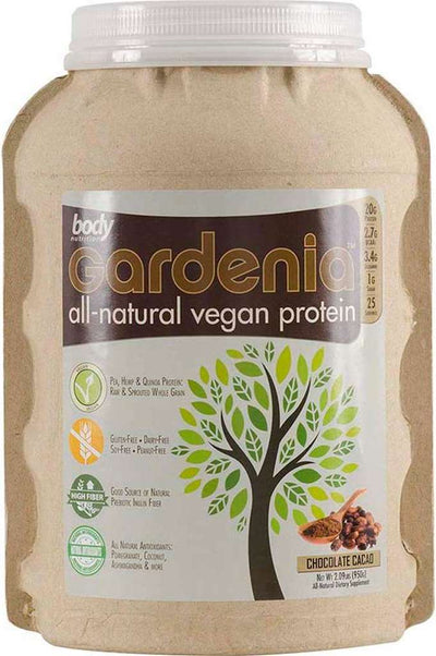 Gardenia: All-Natural Vegan Protein - Chocolate Cacao - 2.09lb (25 Servings)