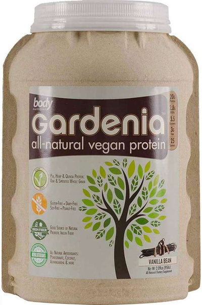 Gardenia: All-Natural Vegan Protein - Vanilla Bean - 2.09lb (25 Servings)