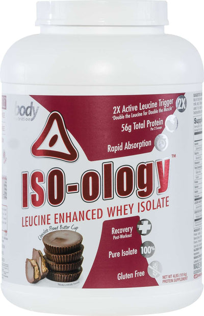 ISO-ology: 100% Leucine-Enhanced Whey Isolate - Chocolate Peanut Butter Cup - 4lb (53 Servings)