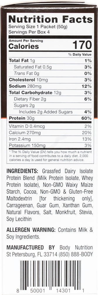 Power Pudding: All-Natural Instant Protein Pudding Mix