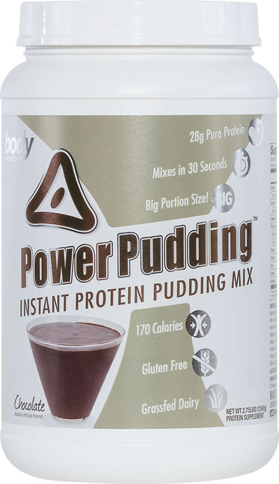 Power Pudding: Instant Protein Pudding - Chocolate - 2.75lb (25 Servings)