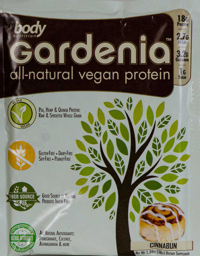 Gardenia: All-Natural Vegan Protein - CinnaBun - Sample (34g)