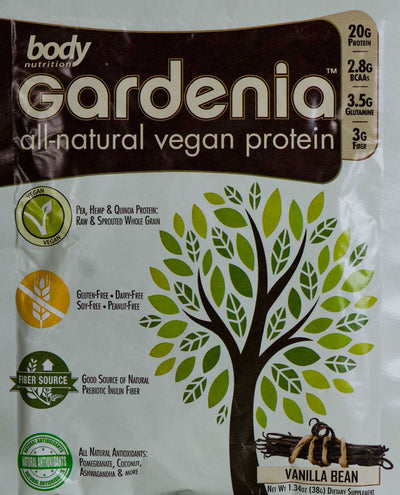 Gardenia: All-Natural Vegan Protein - Vanilla Bean - Sample (34g)