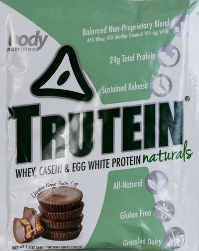 Trutein NATURALS: The Original Trutein Made All-Natural! -Chocolate Peanut Butter Cup - Sample (34g)