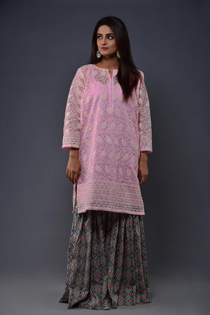 Colourful tribal Pattern Print Gharara