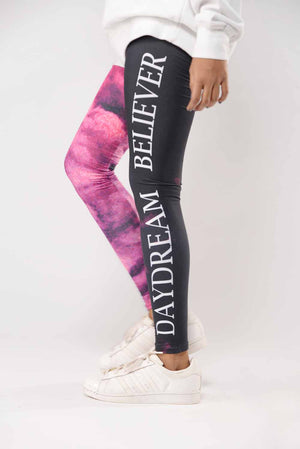 """Day dreamer believer"" Activewear Tights"