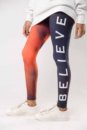 """Believe"" Activewear Tights"