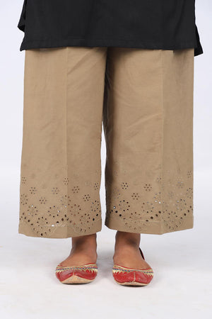 Greenish brownish culotte