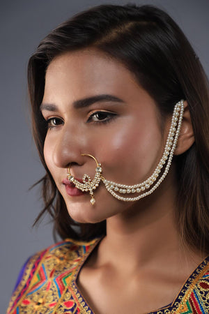 """Nath"" (Traditional nose ring)"