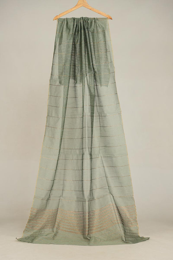 Ivory Khaadi Net Dupatta With Zari Thread Detail Finishing