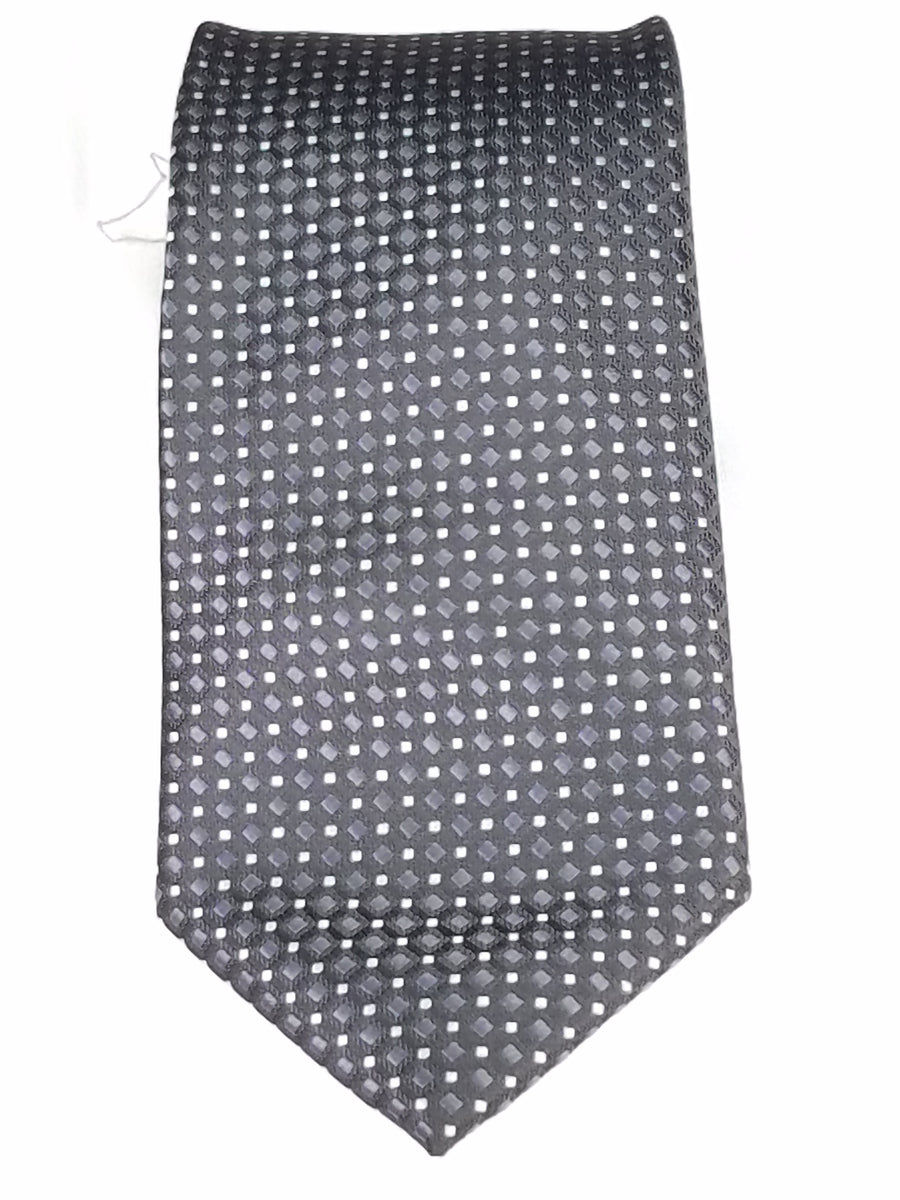 Men's Slim Tie - 51080 BLACK POCODOTS