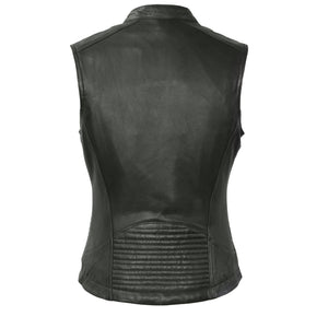 Envy - Women's Motorcycle Leather Vest