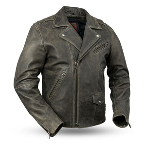 Enforcer - Men's Leather Motorcycle Jacket
